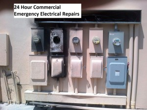 24HR Commercial Electrical Repairs